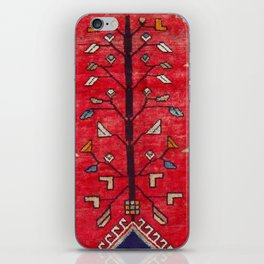 Persian Floral Rug With Several Birds Probably Quail iPhone Skin
