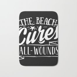 The Beach Cures All Summer Sun Sunshine Love Bath Mat