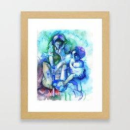 Judith Slaying Holofernes. Framed Art Print