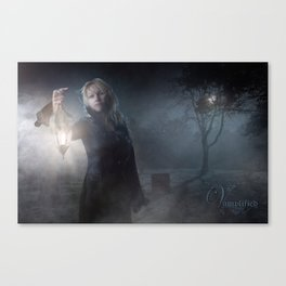 "VAMPLIFIED ""Carrefour Vampir"" Canvas Print"