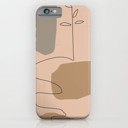 Abstract Composition 18 iPhone Case