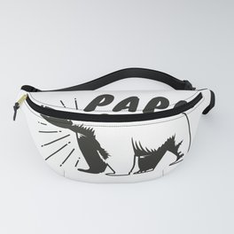Mens Papa Bear Gift, Father's Day Gift For Him Fanny Pack