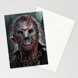 Jason - Friday the 13th Stationery Cards