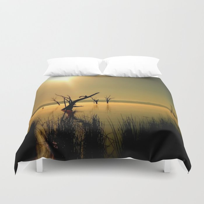 Sun Worshipper  Duvet Cover