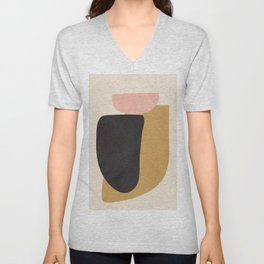 Abstract Shapes 34 Unisex V-Neck