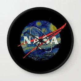Starry Nasa Wall Clock
