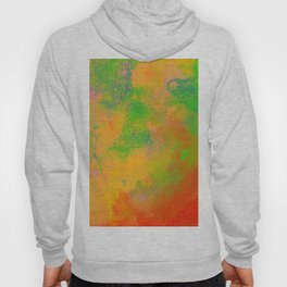 Taste The Rainbow - Multi coloured, abstract, textured painting Hoody