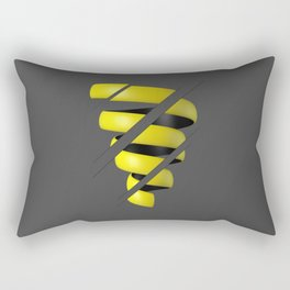 Sliced Spiral Rectangular Pillow