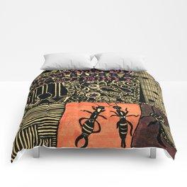 short summer night Comforters