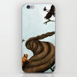 Ratatosk and the Eagle iPhone Skin