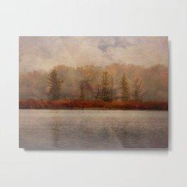 Veil of Mist Metal Print