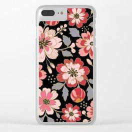Russian Rose Clear iPhone Case