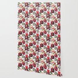 Boho Rojo Wallpaper