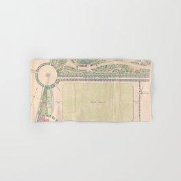 Vintage Map of Prospect Park (1868) Hand & Bath Towel