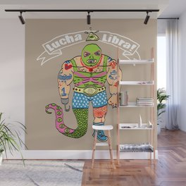 Lucha Libra! Wall Mural