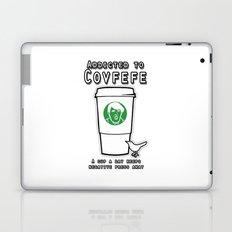 Addicted to Covfefe Laptop & iPad Skin
