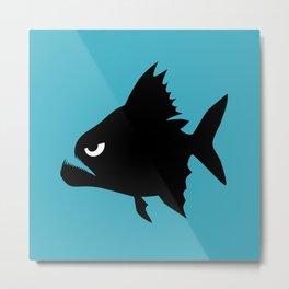 Angry Animals - Piranha Metal Print