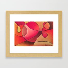 Hearth and Home Framed Art Print