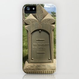 We Remember You Still iPhone Case