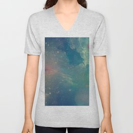 Space fall Unisex V-Neck