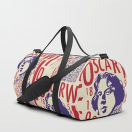Oscar Wilde - La Bella Donna Della Mia Mente Duffle Bag