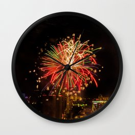 Firework collection 4 Wall Clock