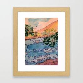 Annecy Framed Art Print