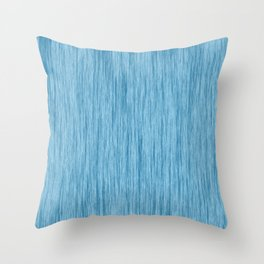 Crinkle in Blue Throw Pillow