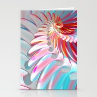 angel wings Stationery Cards featuring Angel Wings by ArtPrints