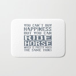 RIDE HORSE Bath Mat