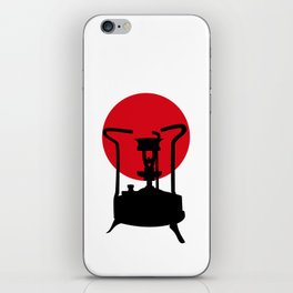 Flag of Japan | Vintage Pressure Stove iPhone Skin