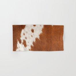 Cowhide, Cow Skin Pattern, Farmhouse Decor Hand & Bath Towel