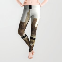 i love NY vintage Leggings