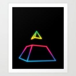 piramide Art Print
