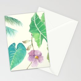 Tropical Combo Ivory (High Resolution) Stationery Cards