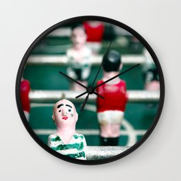 Table soccer Wall Clock