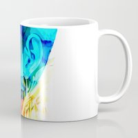 anatomy Mugs featuring Anatomy Quain v2 by Alvaro Tapia Hidalgo