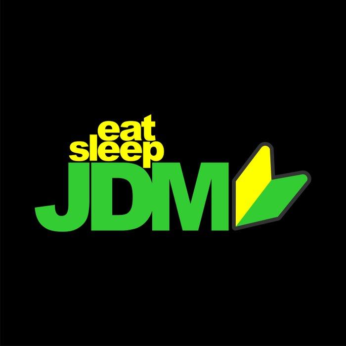 Eat Sleep JDM Duvet Cover