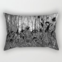 fireplaces and vodka Rectangular Pillow