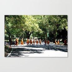 Monks Canvas Print