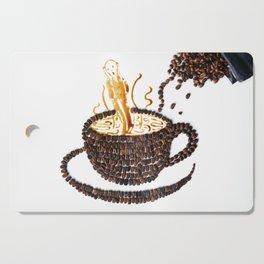 "I ""scream"" for coffee! Cutting Board"