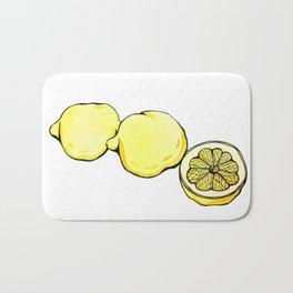 Trois Citrons 2 Bath Mat