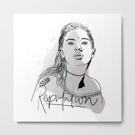 Reputation Metal Print