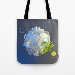 Tiny planet Tote Bag