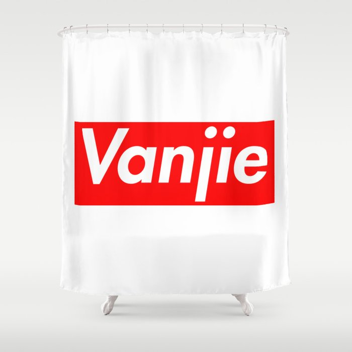The Supreme Vanjie Shower Curtain