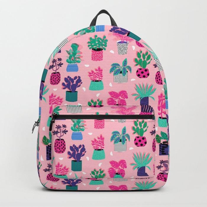 M'kay - southwest cactus desert trendy 90s bright neon 80s style retro classic Backpack