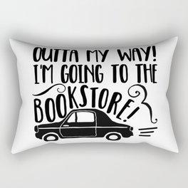 Outta My Way! Rectangular Pillow