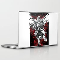 dracula Laptop & iPad Skins featuring Vampire Dracula by Manuel Cortaza