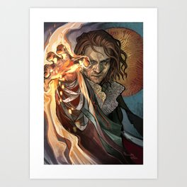 Light them up, pretty Art Print