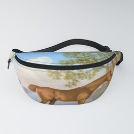 12,000pixel-500dpi - Pumpkin With A Stable-lad - George Stubbs Fanny Pack